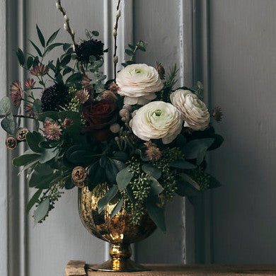 Golden Urn Arrangement