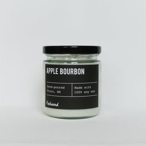 Foxhound Candle Apple Bourbon