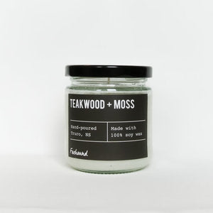 Foxhound Candle Teakwood and Moss