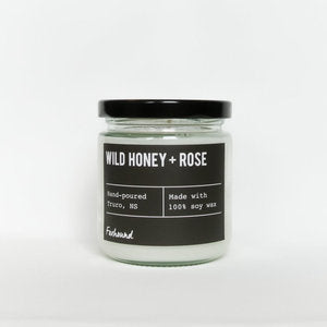 Foxhound Candle Wild Honey and Rose
