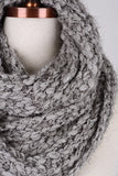 Cozy & Oh So Soft Perfect Gray Knit Scarf