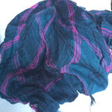 Your go-to Scarf (Teal/Fuschia)