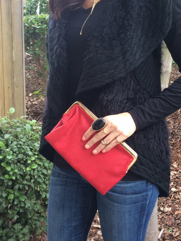 Wallet / Clutch (Red)
