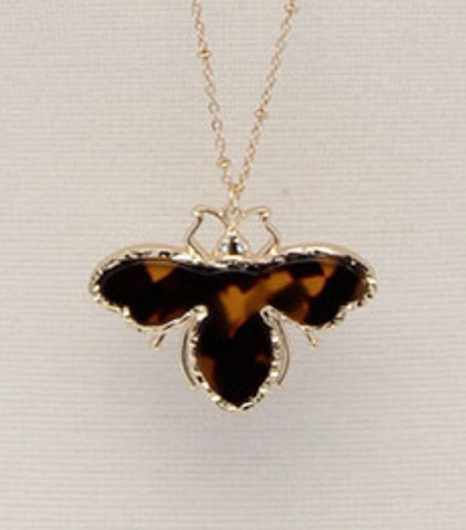Gorgeous Insect Pendant Necklace