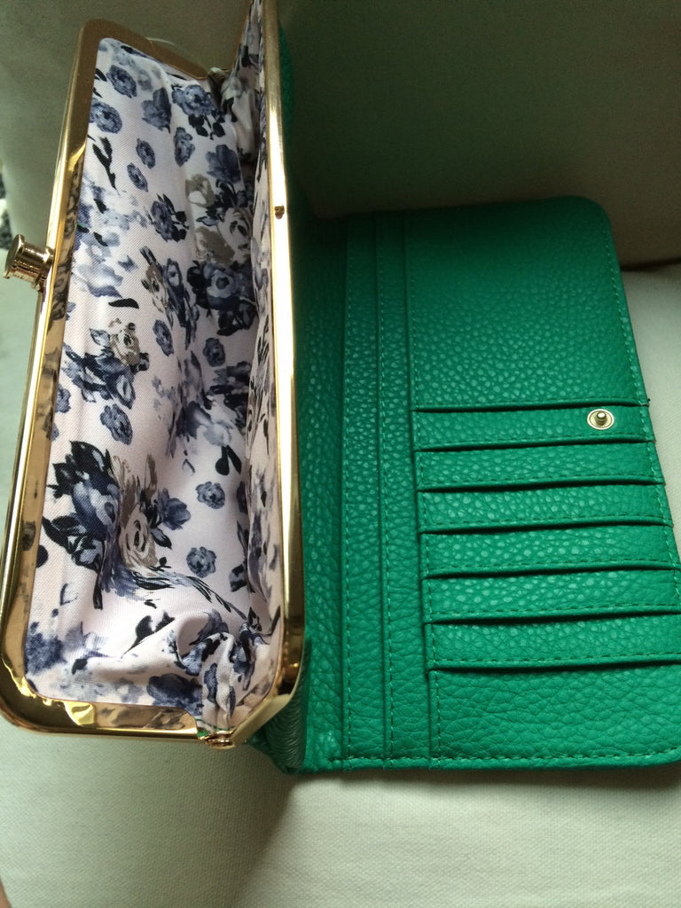 Wallet / Clutch (Teal Green)