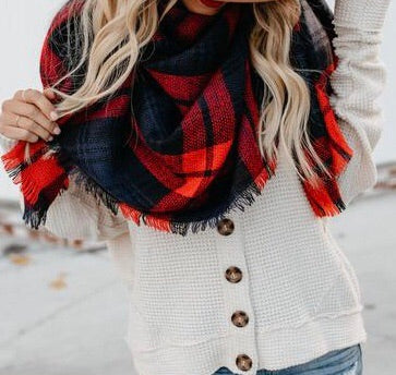 Always Be Merry blanket scarf