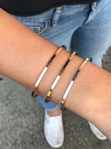 Love Bracelets - Rose Gold, Silver & Gold