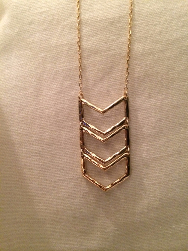 Chevron Accent Necklace
