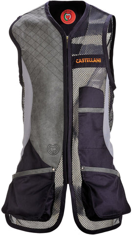 CASTELLANI RIO MESH VEST Navy-Navy-Grey Right Handed