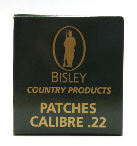 Bisley .22 Cleaning Patches