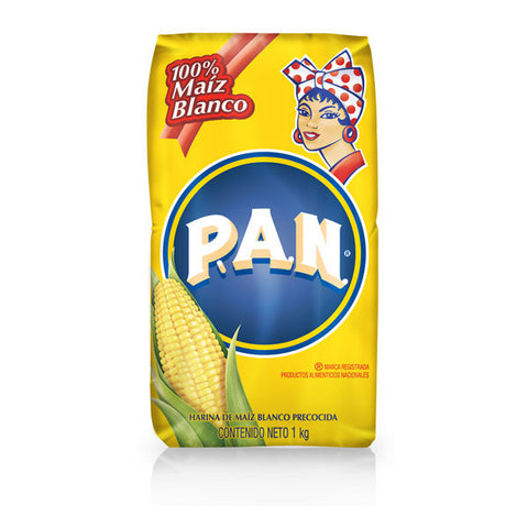 Harina PAN White Cornmeal (Blanco)