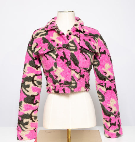Fleece Camouflage Jacket