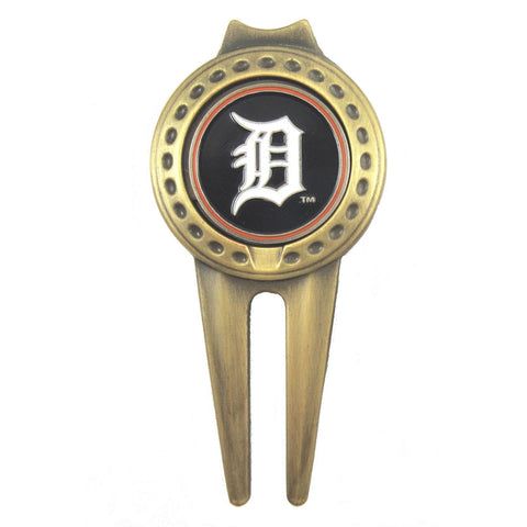 Detroit Tigers Divot Tool with Golf Ball Marker