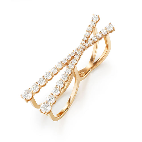 ARIA CROSS RING