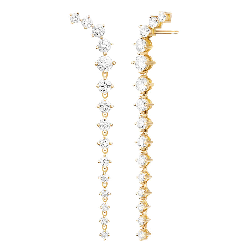 ARIA DAGGER EARRING (Diamond)
