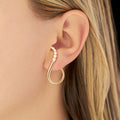 ARIA GRACE EARRING (Partial Diamond)