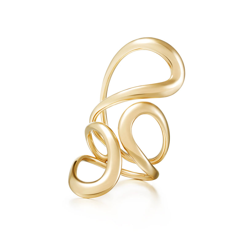 ARIA JANE RING Large (Gold)