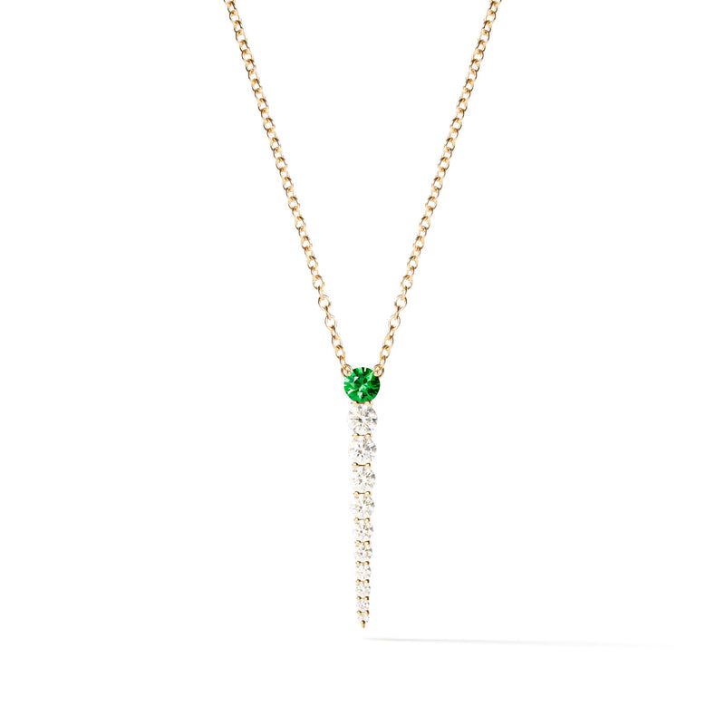 ARIA NECKLACE (Tsavorite Garnet)