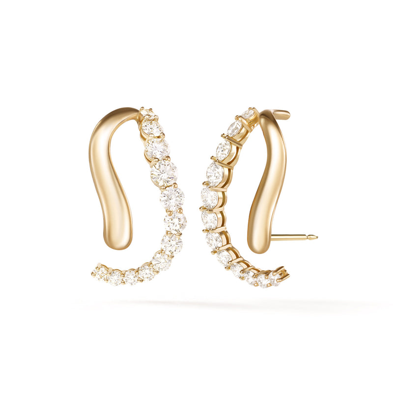 ARIA SKYE EARRING (Partial Diamond)