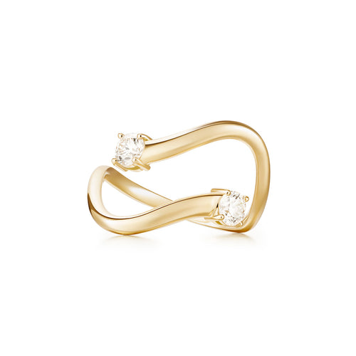 ARIA SKYE RING (Partial Diamond)