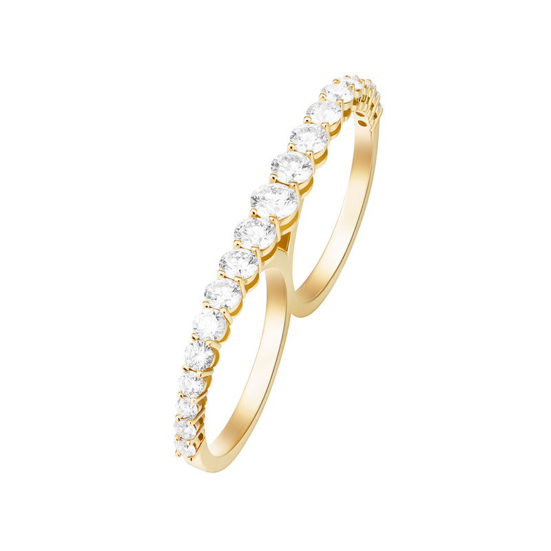 ARIA TWO-FINGER RING