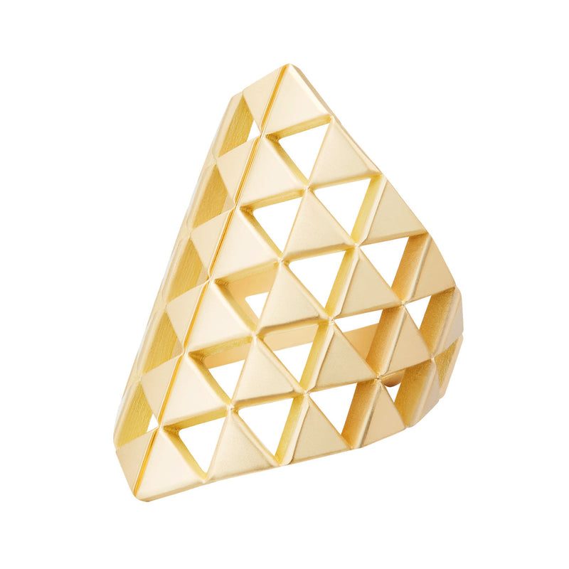 CHLOE SHIELD RING (Gold)
