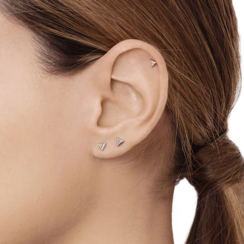 Chloe Single Trillion Earring