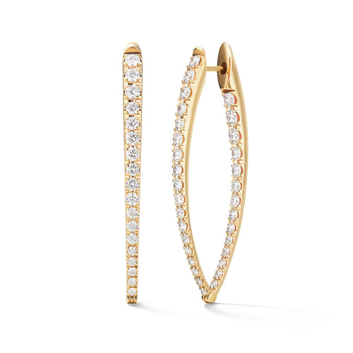CRISTINA EARRING Large (Diamond)