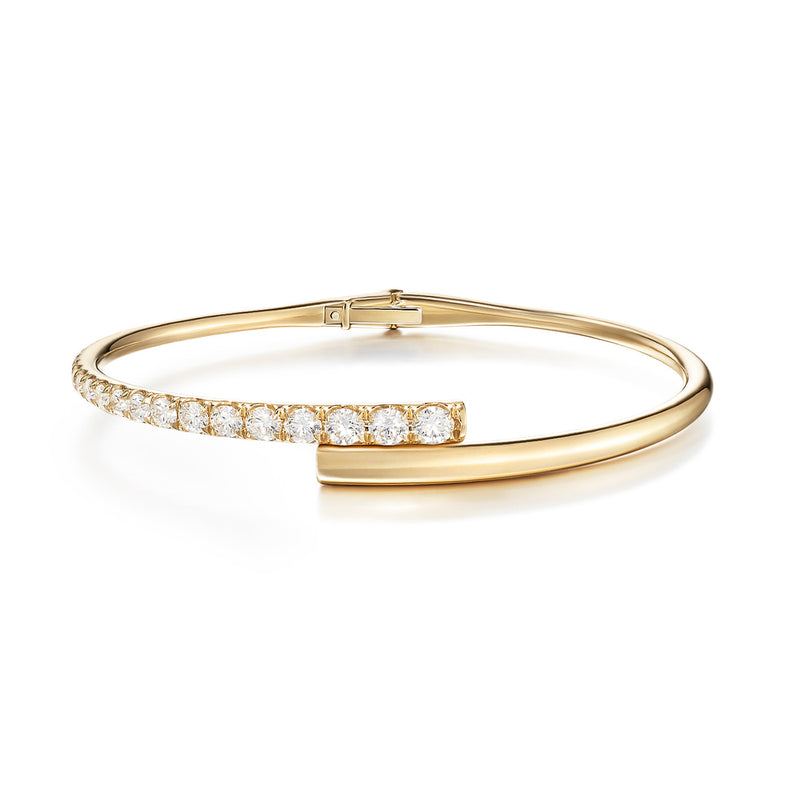LOLA CUFF (Partial Diamond)