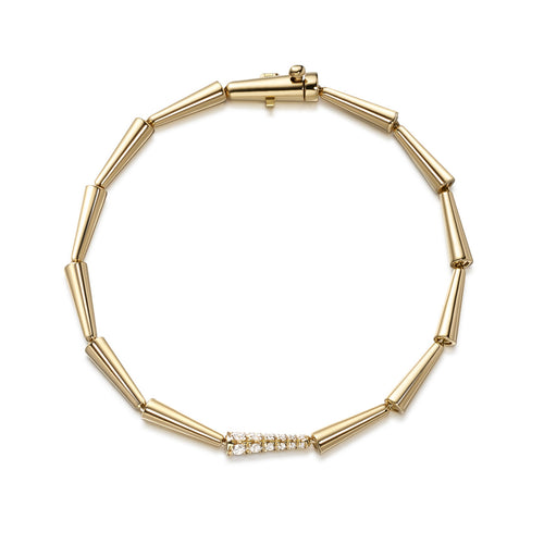 LOLA LINKED BRACELET (Gold)
