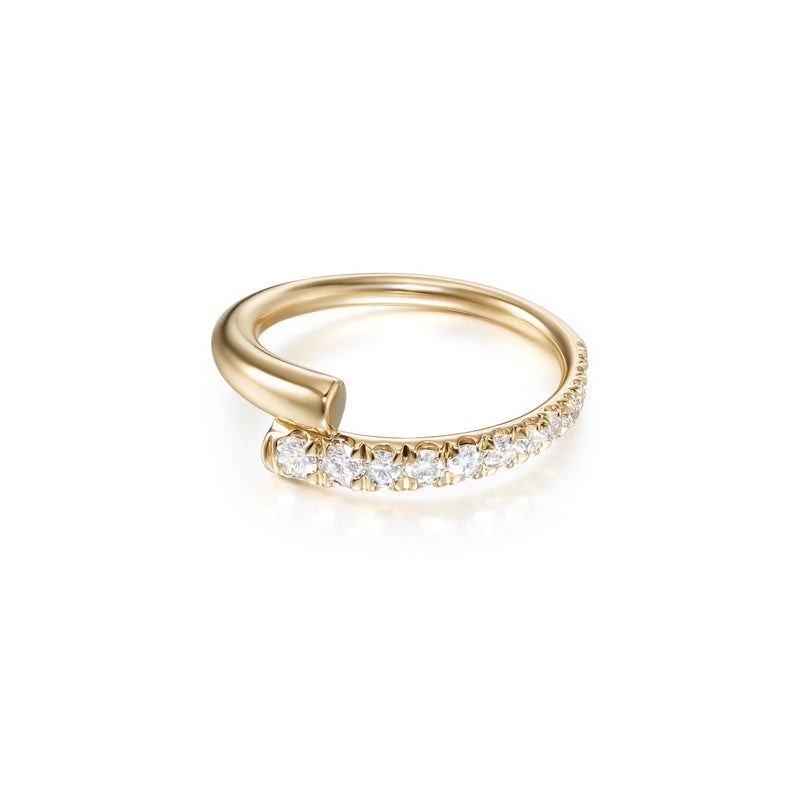 LOLA PINKY RING (Partial Diamond)