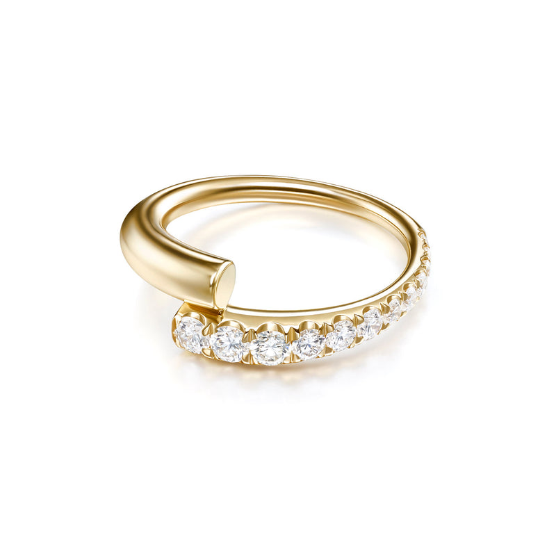 LOLA RING (Partial Diamond)