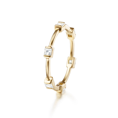 ZEA RING (Princess Cut)