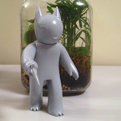 Cat with Dagger, Unpainted SOLD OUT