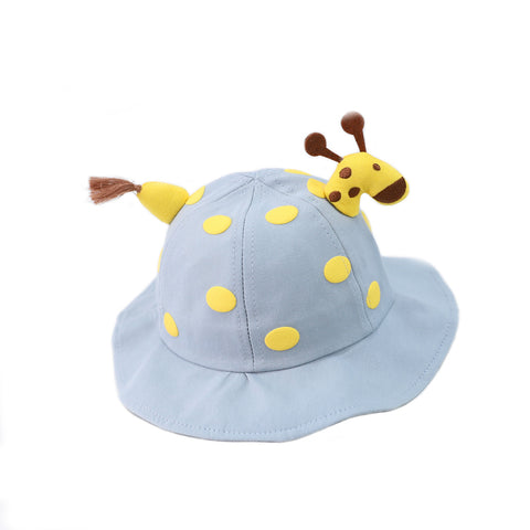 Kids Giraffe Hat with removable Face Mask
