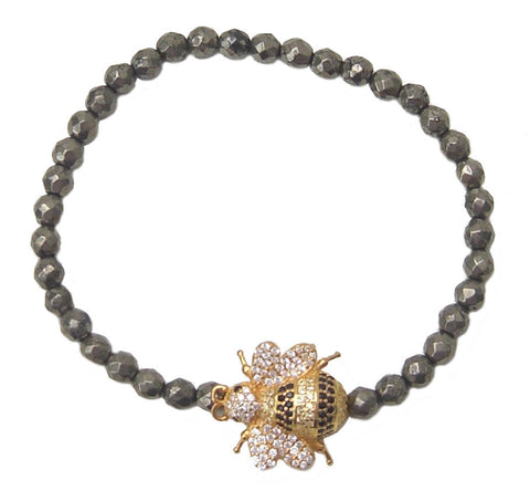 Bee bracelet - Blooms of London - Designs inspired by nature