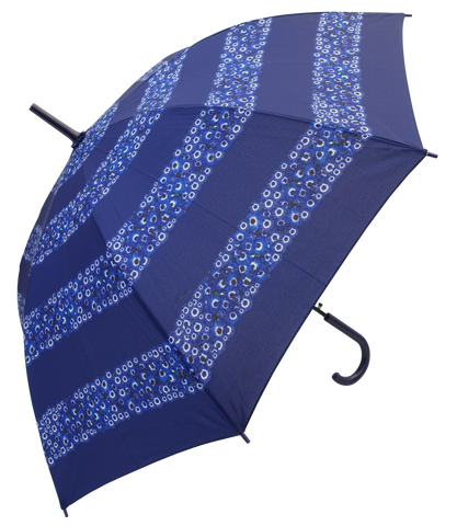 Blue Daisy Umbrella - Blooms of London - Designs inspired by nature