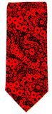 Remembrance, Armistice Day, Centenary Poppy Silk Tie - Blooms of London - Designs inspired by nature
