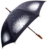 Albino Peacock Umbrella - Blooms of London - Designs inspired by nature