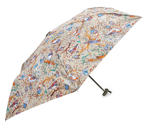 Zebra Finch Design Umbrella - Blooms of London - Designs inspired by nature