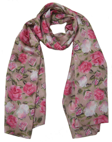 English Rose Scarf - Blooms of London - Designs inspired by nature