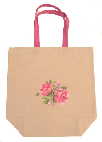 English Rose Shopping Bag - Blooms of London - Designs inspired by nature