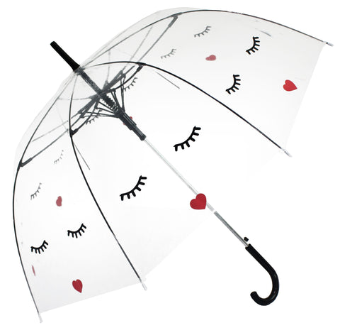 Face Transparent Umbrella - Blooms of London - Designs inspired by nature