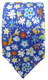 Forget me not Tie - Blooms of London - Designs inspired by nature