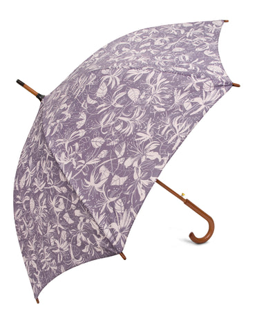 Honeysuckle Beige Umbrellas - Blooms of London - Designs inspired by nature