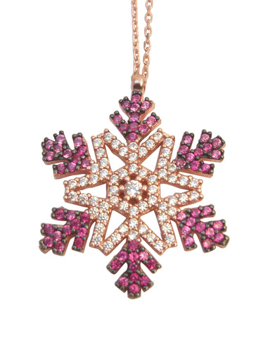 Snow flake necklace - Blooms of London - Designs inspired by nature