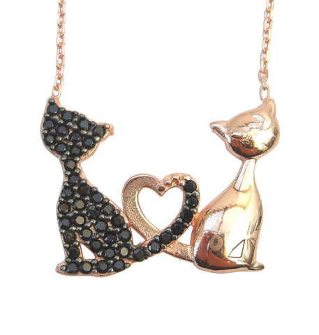 Cats necklace - Blooms of London - Designs inspired by nature