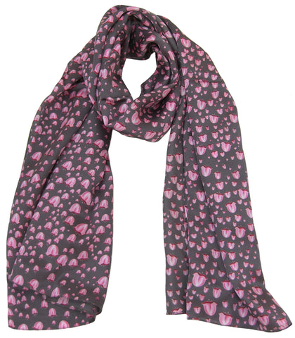 Lilly of The Valley Scarf - Blooms of London - Designs inspired by nature