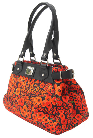 Poppy M Melissa Handbag - Blooms of London - Designs inspired by nature