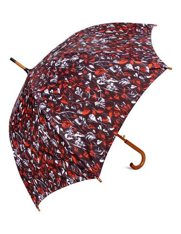 Mixed Heart Leaf Umbrella - Blooms of London - Designs inspired by nature